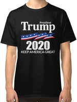 President Trump 2020 - Keep America Great Men's T-Shirt Clothing Cool Casual pride t shirt men Unisex New Fashion tshirt - Trump 2020 Tees