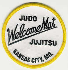 Old School Welcome Mat Lapel Patch for Gi