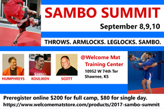 2017 Sambo Summit (SINGLE DAY)