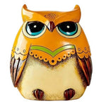 Tirelire Orange <br />Hibou - Tirelire Store