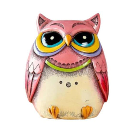 Tirelire <br />Hibou Rose - Tirelire Store
