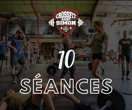 10 séances CrossFit Saint Simon