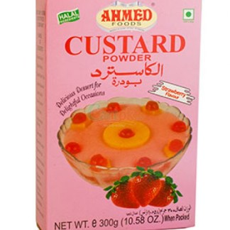 CUSTARD Strawberry 300G AHMED