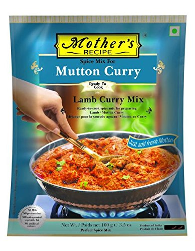 Mother'S Mutton Curry (Lamb Curry) Mix 100GM