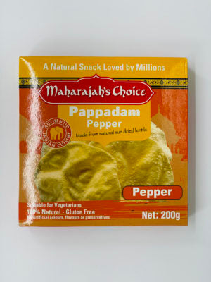 Pappadam Pepper MC 200g