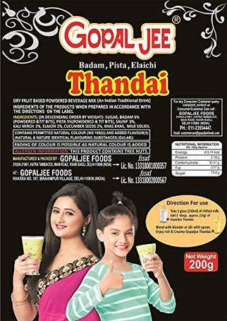 Thandai Mix Gopaljee