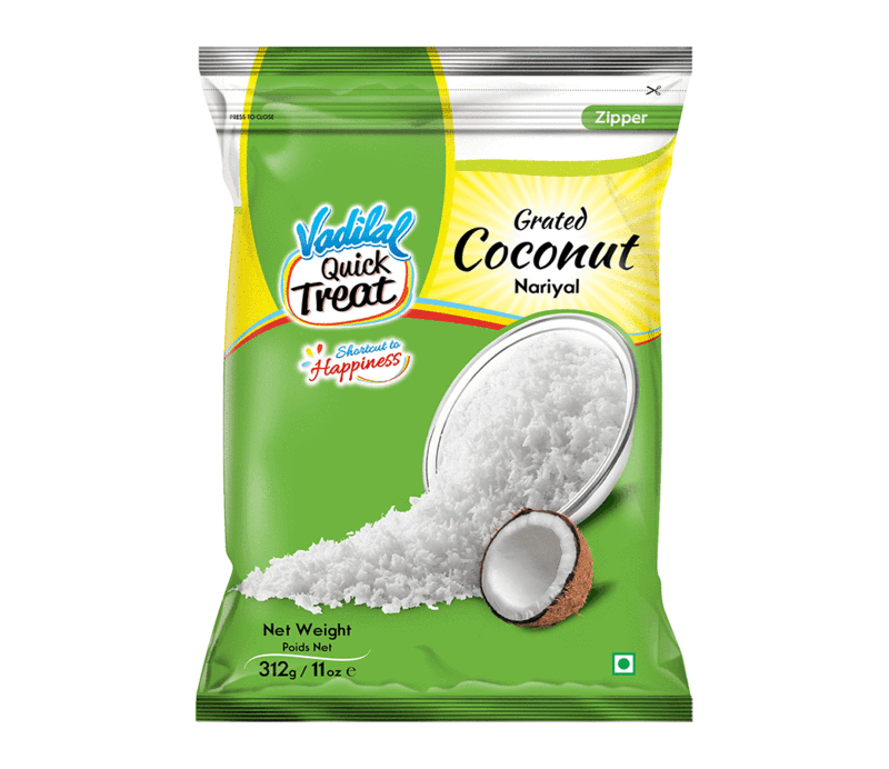 Coconut Grated 312g Vadilal