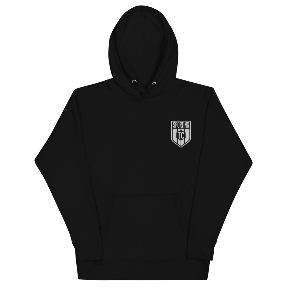 Sporting TC Embroidered Crest Unisex Hoodie