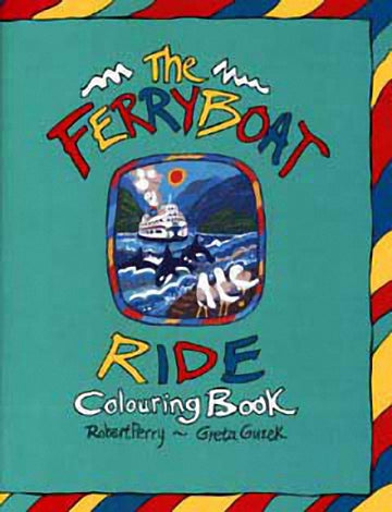 The Ferryboat Ride Colouring Book
