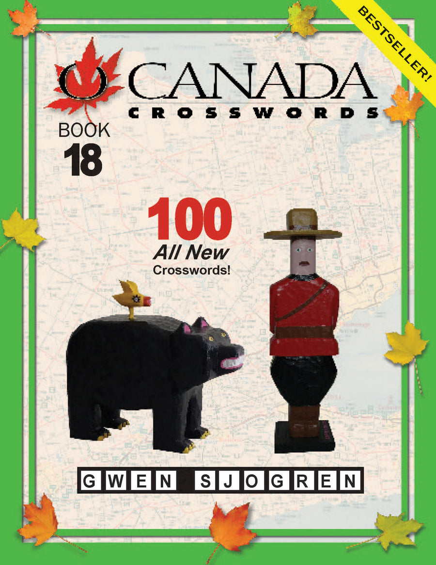 O Canada Crosswords Book 18