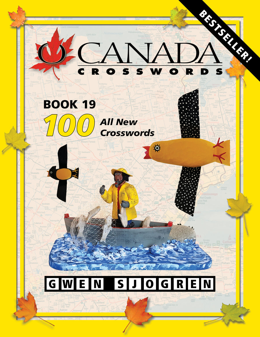 O Canada Crosswords Book 19