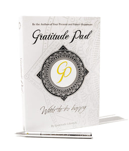 Gratitude Pen & Pad Set (Matte pen edition)