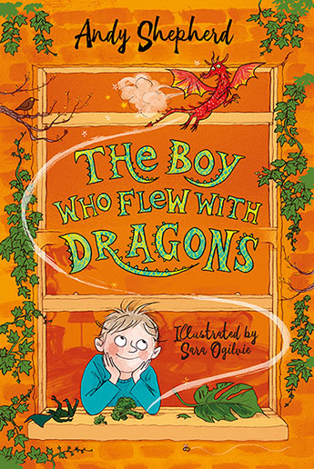 The Boy Who Flew Dragons 3 (signed bookplate copy)