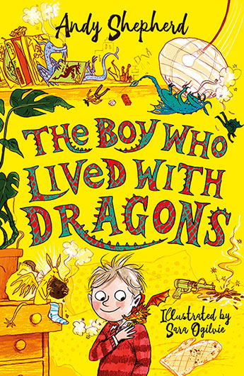 The Boy who lived with Dragons 2 (signed bookplate copy)