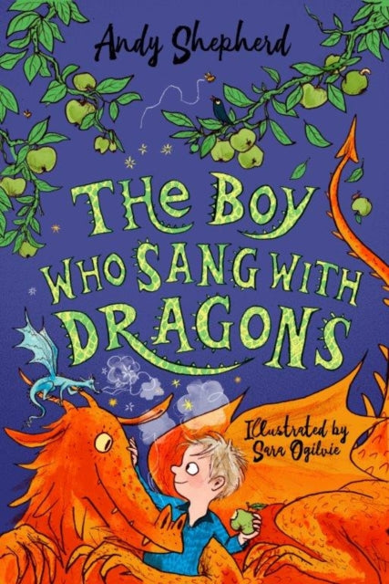The Boy Who Sang With Dragons 5 (signed bookplate copy)
