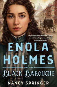 Enola Holmes and the Black Barouche pre-order