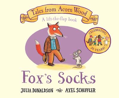 Foxes Socks lift the flap book