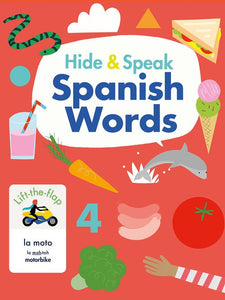 Hide and Speak Spanish words