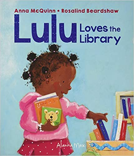 Lulu loves the Library Paperback