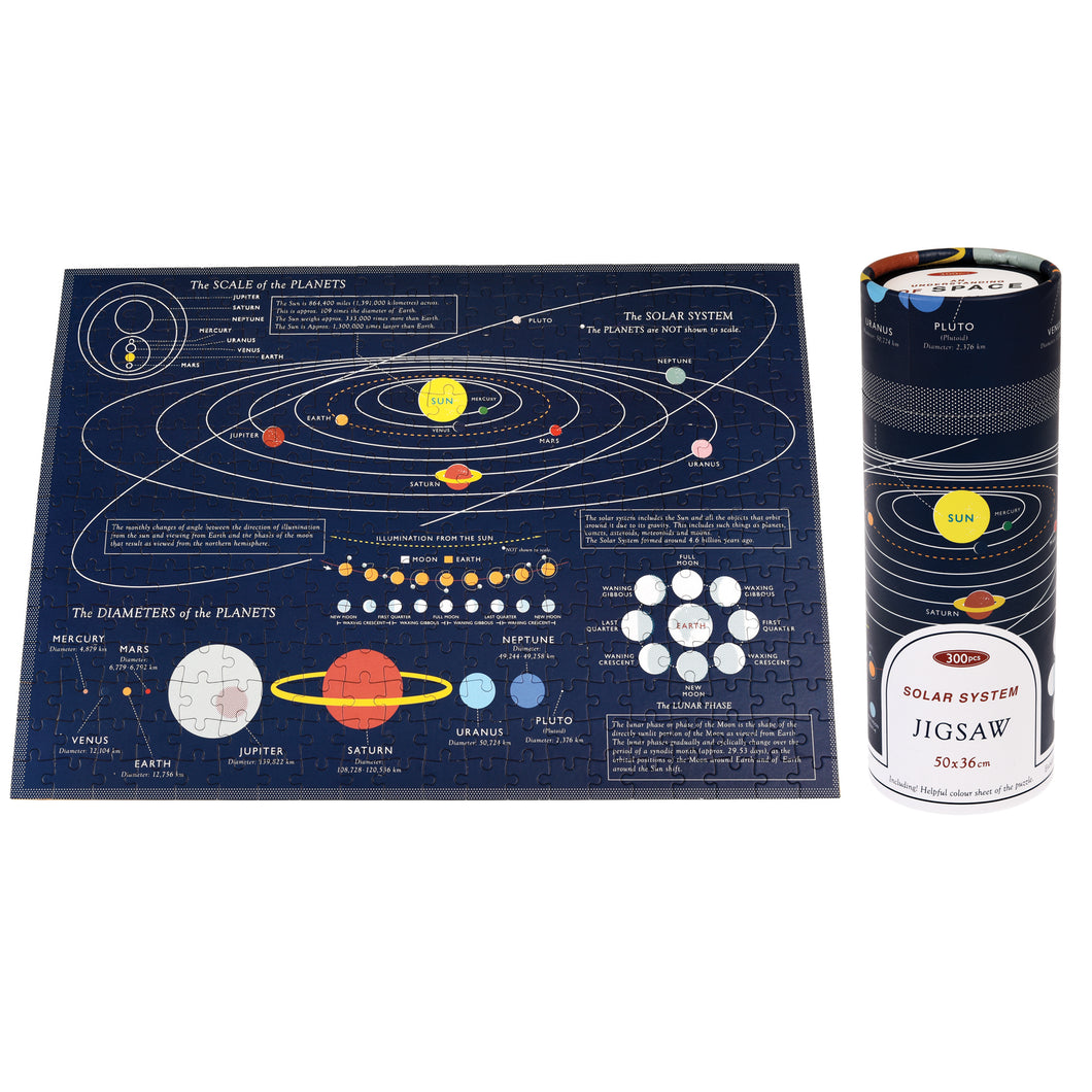 Space Age Puzzle in a tube 300 pre-order