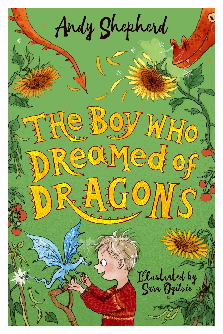 The Boy Who Dreamed of Dragons 4  (Signed bookplate copy)