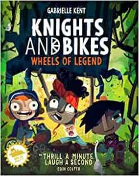 Knights and Bikes: Wheels of Legend. Signed copy