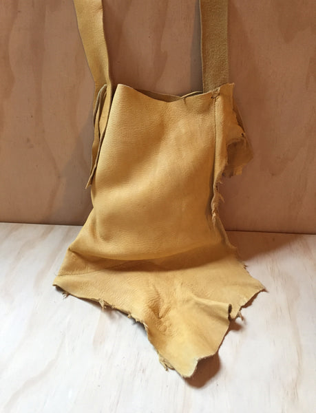 yellow-gold deer bag