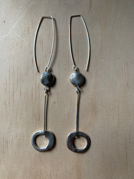 pendulum-with silver bead