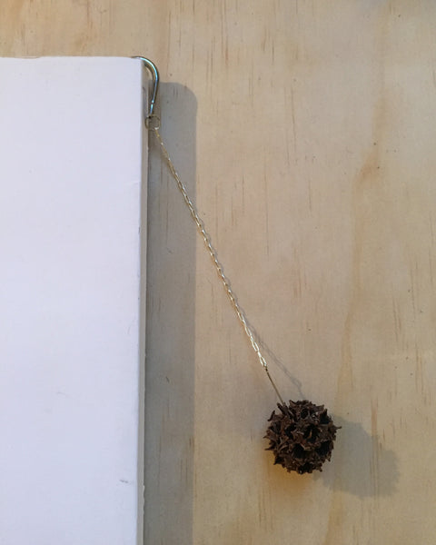 ball and chain book marker
