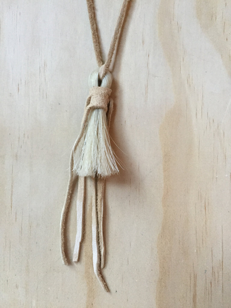 Horse Hair Necklace Willow small