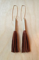 fringe cone - brown