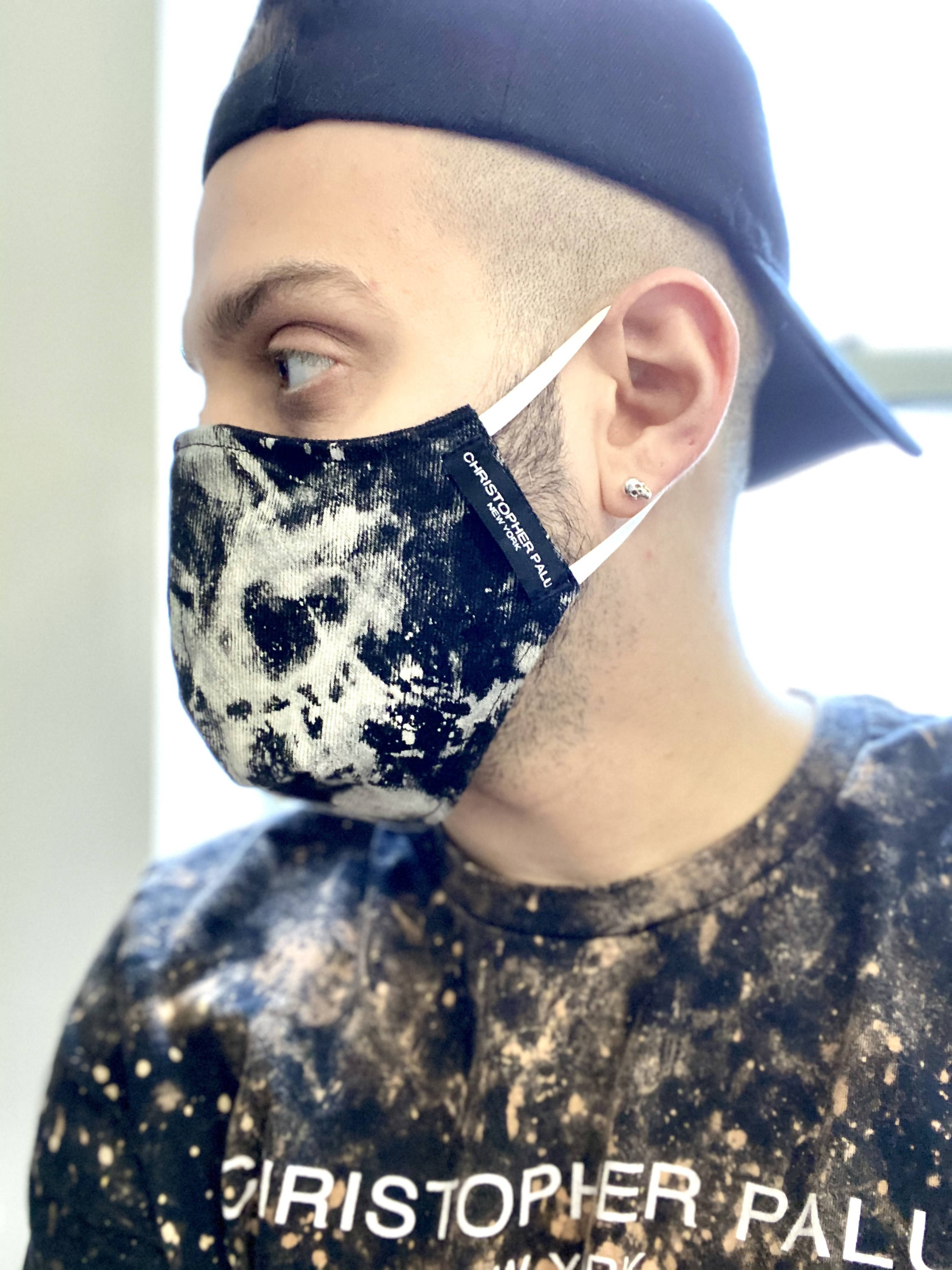 Unique Denim Mask