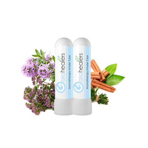 Antiviral Essential Oil Nasal Inhalers - (2 Pack) USDA Organic