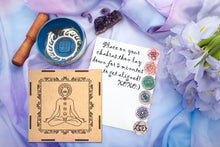 Load image into Gallery viewer, Crystal Quartz Tachyonized Chakra Set - Advanced Chakra Healing Crystals Kit for Root, Sacral, Solar Plexus, Heart, Throat, Third Eye, and Crown Balancing