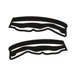 A bacon icon