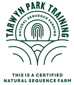 A Natural Sequence Farm Certification Logo