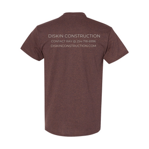 Diskin Construction Logo Tee.