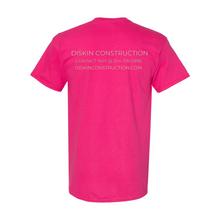 Load image into Gallery viewer, Diskin Construction Logo Tee.