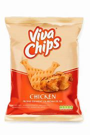 VIVA CHIPS CHICKEN 100G