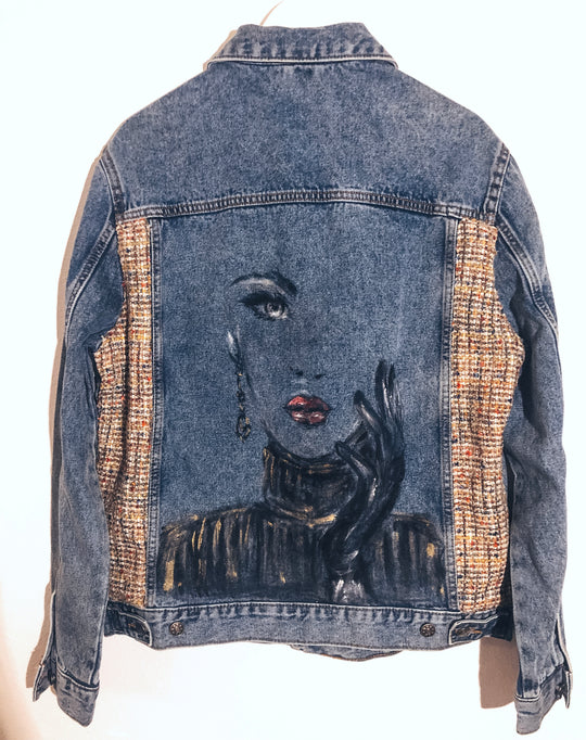 "Lost Legends. Jeansjacke ""Belle âme"""