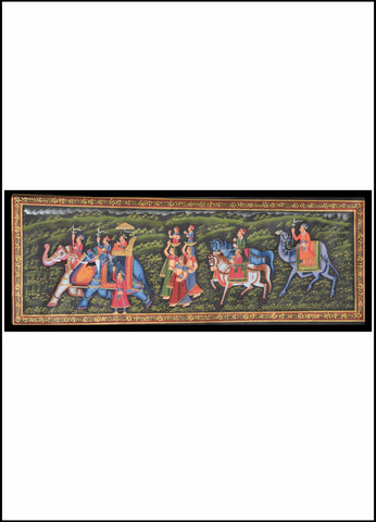 Traditional Folk Art - Miniature Style Painting