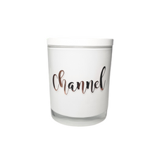 Load image into Gallery viewer, Special Occasion - White Personalised Candle with White Wooden Lid