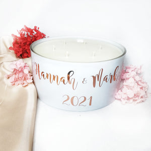 The Infinity 1.6kg  Candle Bowl