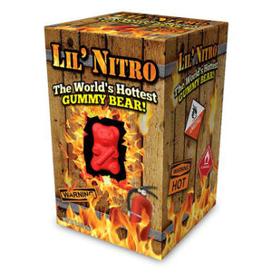 LIL NITRO - WORLDS HOTTEST GUMMY BEAR - Sweets and Geeks