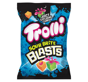 TROLLI SOUR BRITE BLASTS PEG BAG - Sweets and Geeks