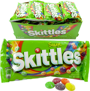 SKITTLES SOUR SINGLES 1.8 OZ Bag - Sweets and Geeks