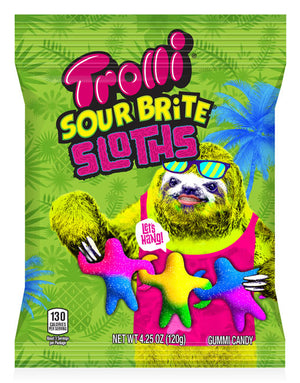 TROLLI SOUR BRITE SLOTHS - Sweets and Geeks