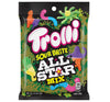 TROLLI SOUR BRITE ALL STAR MIX PEG BAG - Sweets and Geeks