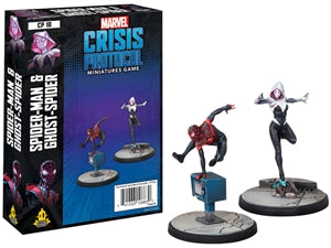 Marvel Crisis Protocol: Spider-Man & Ghost-Spider - Sweets and Geeks