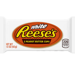 Reese's Peanut Butter Cups (White Chocolate) 1.39 OZ - Sweets and Geeks